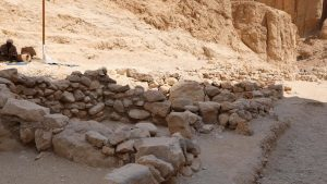 Section of the site in the East Valley. Image: Egyptian Ministry of Antiquities